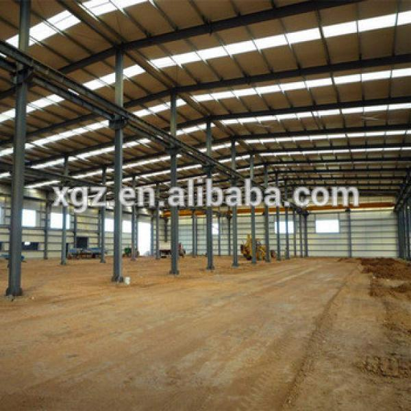 China Low Cost Steel Building Prefabricated Industrial Warehouse #1 image