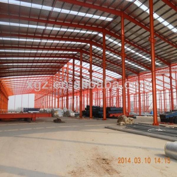 Prefabricated steel building industrial shed designs car workshop #1 image