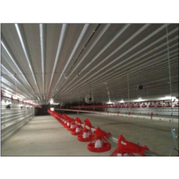 Galvanized Prefabricated Chicken Farm #1 image