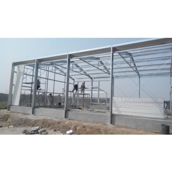High quality Construction Design Steel Material Prefabricated Farm Sheds #1 image