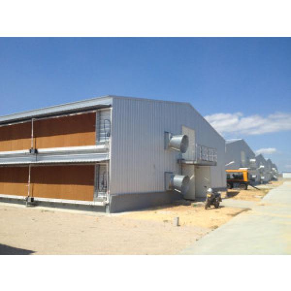 Galvanized Prefabricated Chicken Farm / Chicken House #1 image