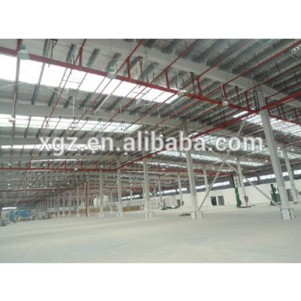 lower cost prefab Steel Structure Poultry House / Chicken House #1 image