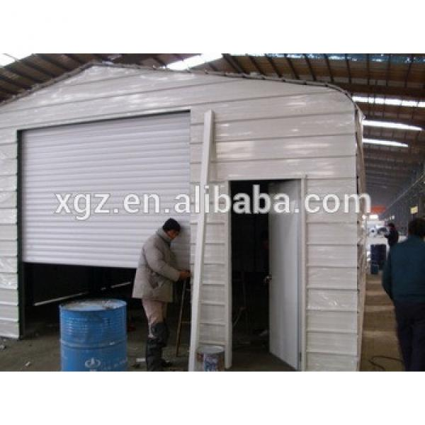 Prefabricated Structural Steel Storage Shed #1 image