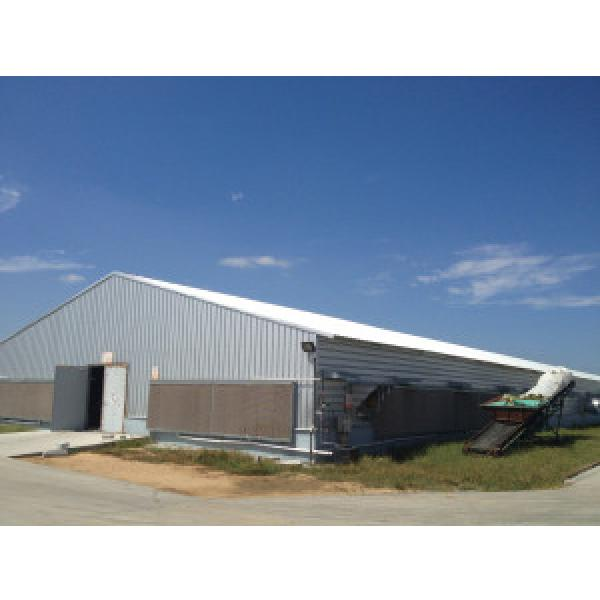 Galvanized Prefabricated Chicken shed #1 image