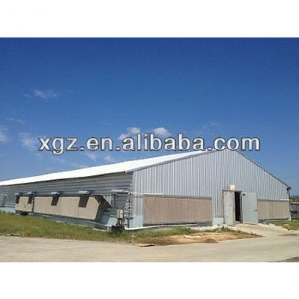 High quality commercial Chicken house With low price #1 image
