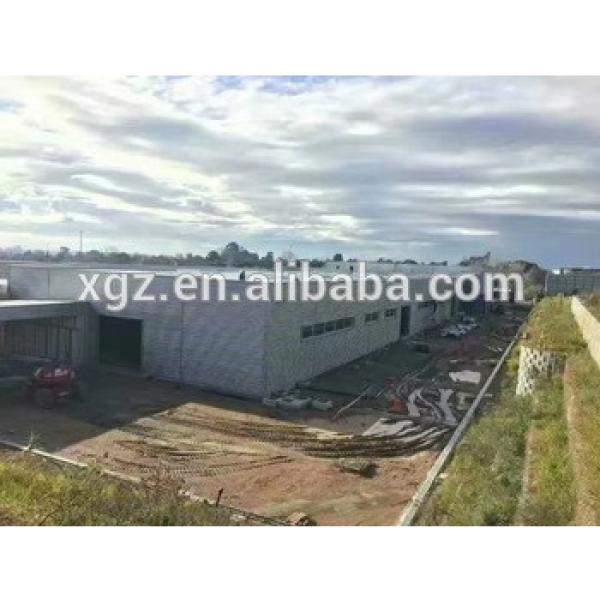 Steel Structure Warehouse Prefabricated Light Steel Construction Production Hall #1 image