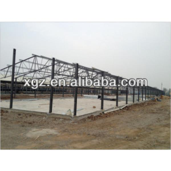 steel structure roof for poultry house #1 image