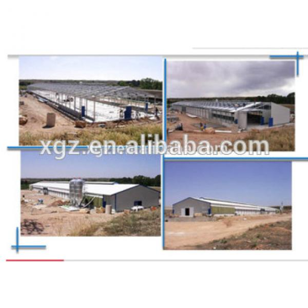 Galvanized low cost poultry shed for sale #1 image