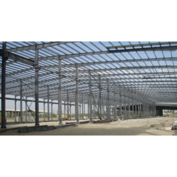 Good quality steel structure workshop/prefabricated warehouse #1 image