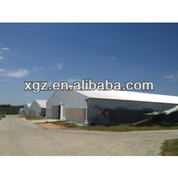 layer egg chicken cage/poultry farm house design #1 image