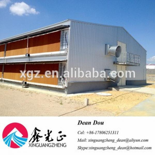 Auto Device Professional Designed Steel Structure Poultry Farm Broiler House Manufacturer China #1 image