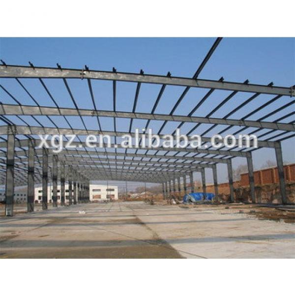 Portal Frame Steel Structure Prefabricated Workshop Building #1 image