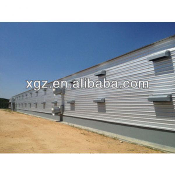 economical prefab chicken broiler house design #1 image
