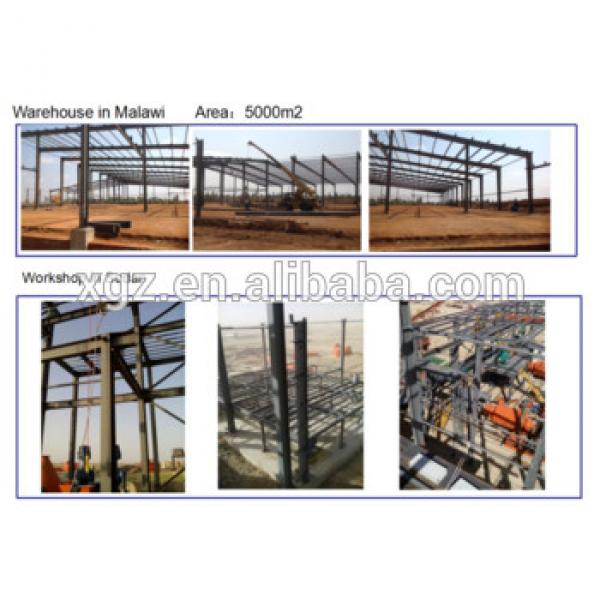manufacturer pre engineered steel fabricated construction warehouses #1 image