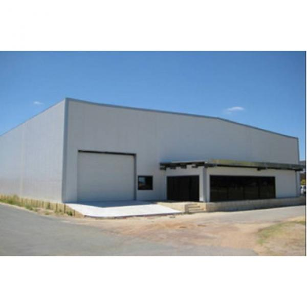Hot sale luxury steel frame structure workshop/warehouse #1 image