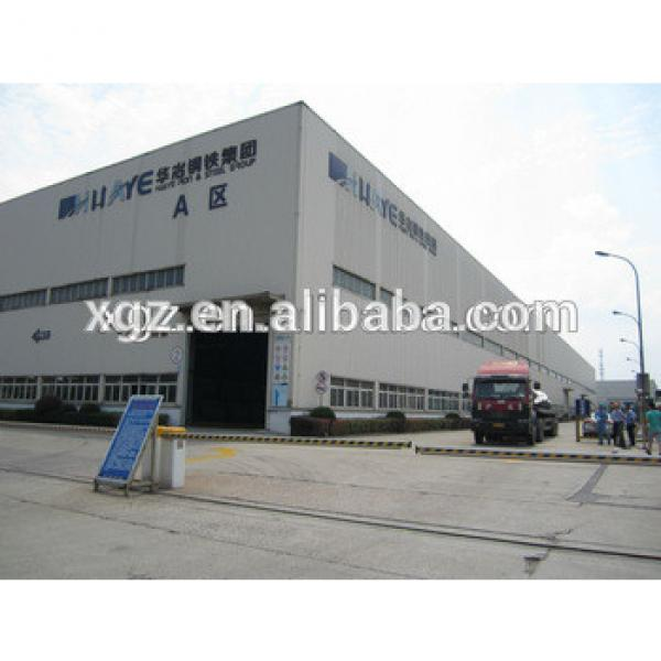 Cheap Prefabricated Steel Structure Warehouse South Africa #1 image