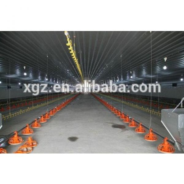 fully automatic prefab chicken farm with equipments #1 image