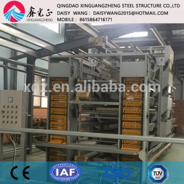 Modern automatic rearing chicken cage equipment factory #1 image