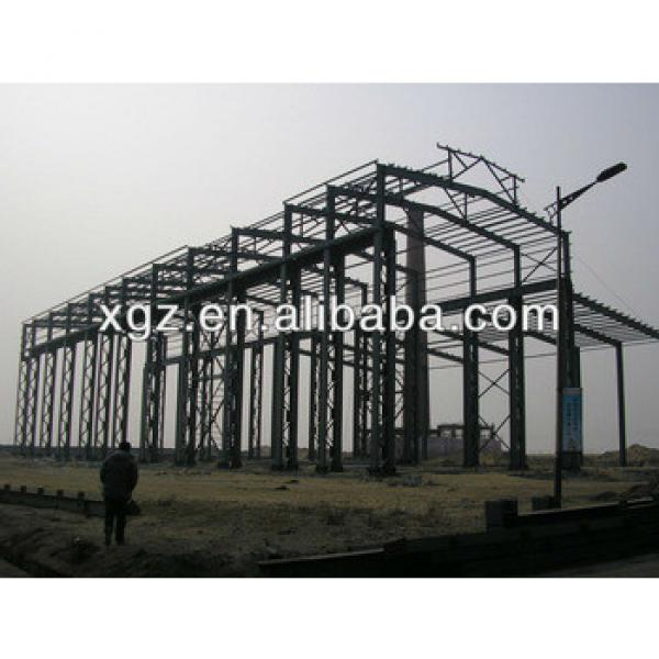 XZG XGZ lower cost sandwich panel light steel frame warehouse WORKSHOP #1 image
