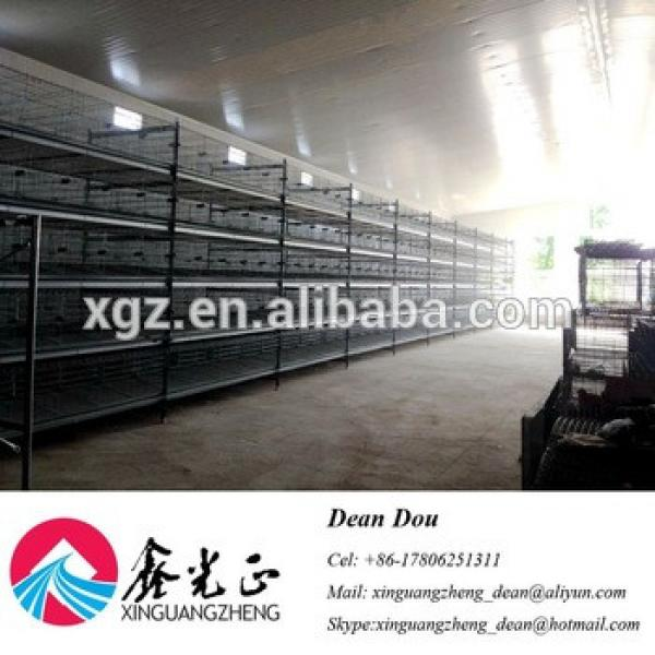 Auto-Control Machine Equipments Steel Structure Poultry Farming House Design China #1 image