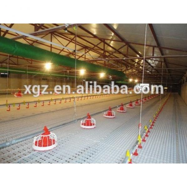 steel structure low cost chicken layer house shed poultry for broilers design #1 image