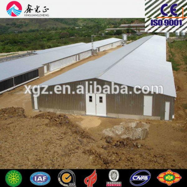 Steel Poultry farm shed chicken house for broiler chicken layer chicken #1 image
