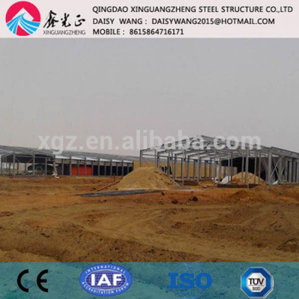 Moder steel poultry shed supplier China #1 image