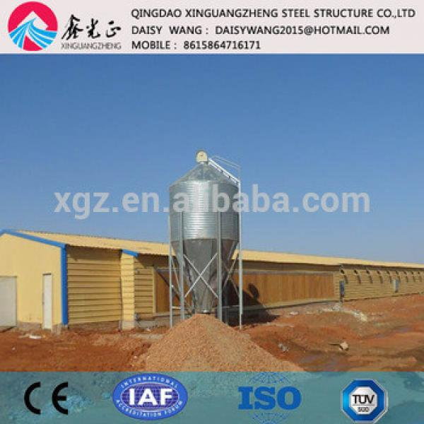 Modern steel structure poulry shed low cost #1 image