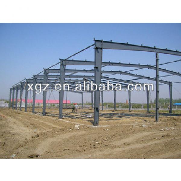 PU sandwich panel workshop with light weight steel frame #1 image