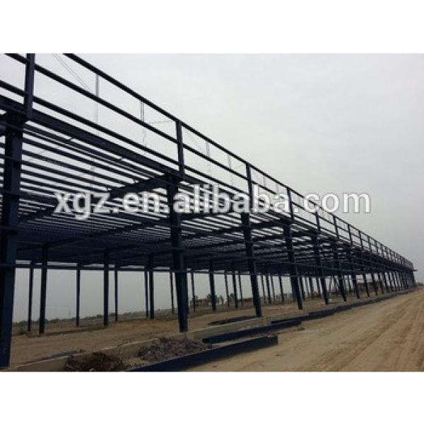 Prefabricated warehouse steel structure fabrication #1 image