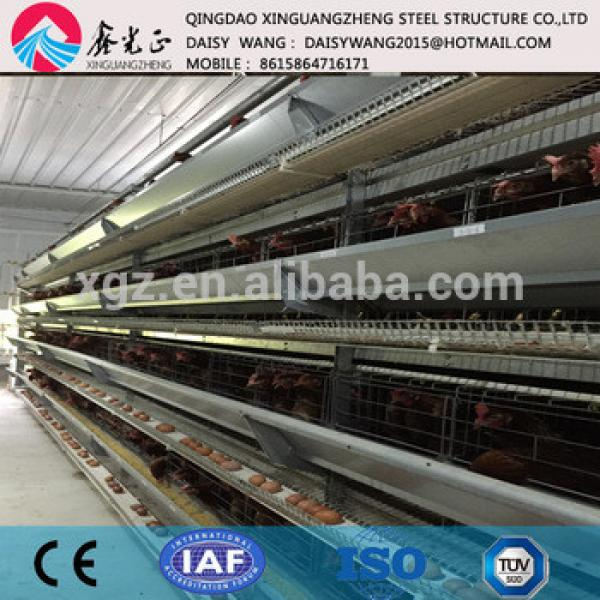 Modern automatic layer egg chicken cage system for poultry farm #1 image