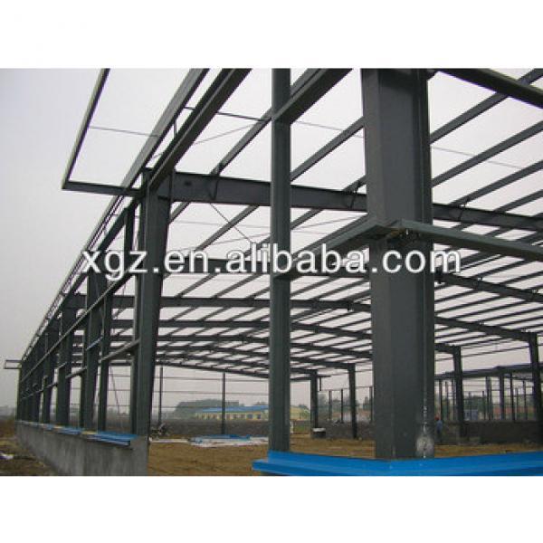 Xinguangzheng heavy steel frame structure warehouse #1 image