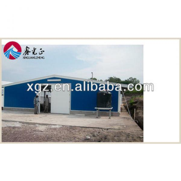 prefab steel structure industrial chicken house for sales #1 image
