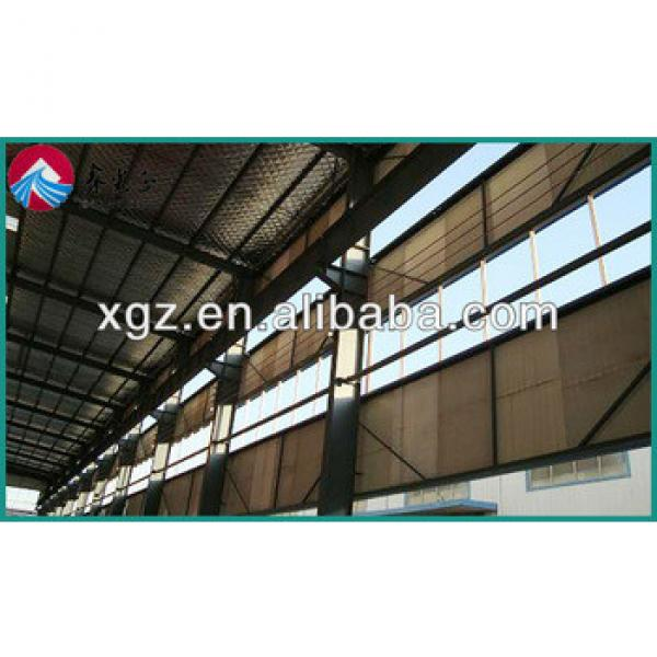XGZ sadwich large span steel roof construction structures warehouse #1 image