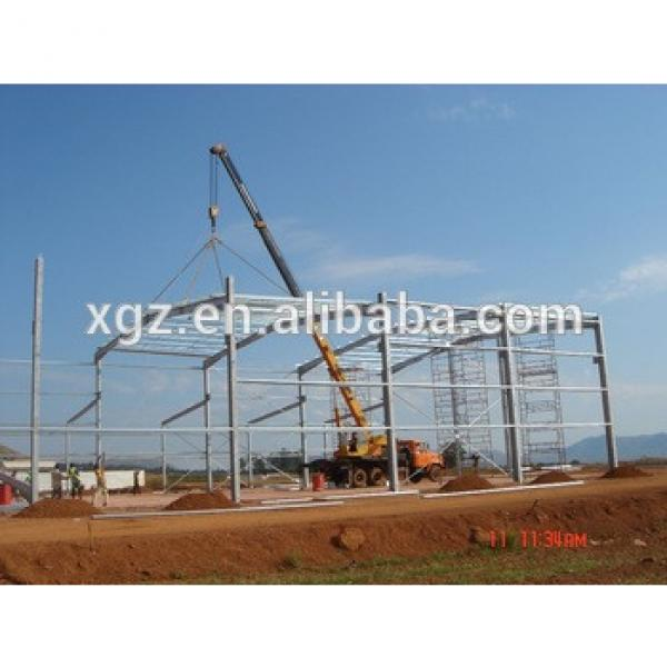 prefabricated fabrication steel structure for warehouse/building #1 image
