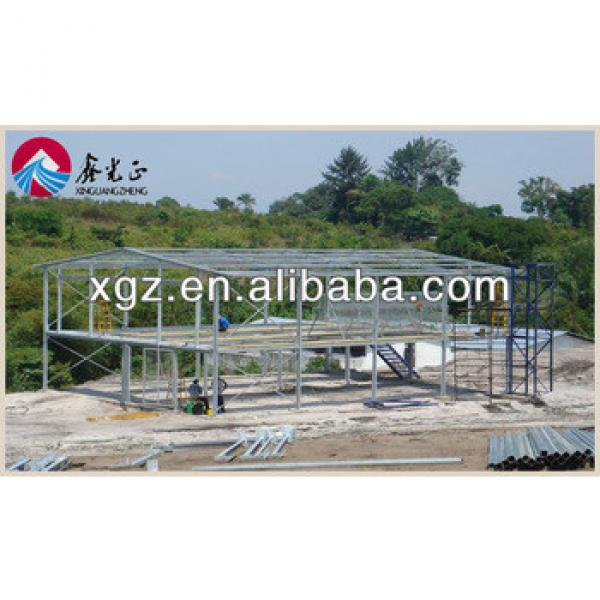 lower cost prefab feeding steel structure chicken farm house #1 image