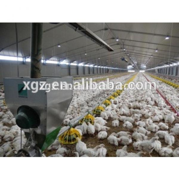 Commerical Prefabricated Steel Structure Automatic Broiler Poultry House #1 image