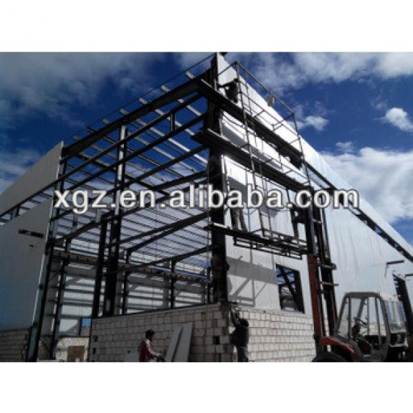 XZG lower cost sandwich panel structural steel warehouse #1 image