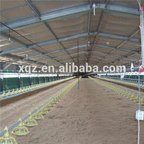 2016 hot sales cheap modern poultry farm design metal chicken coop for broiler #1 image