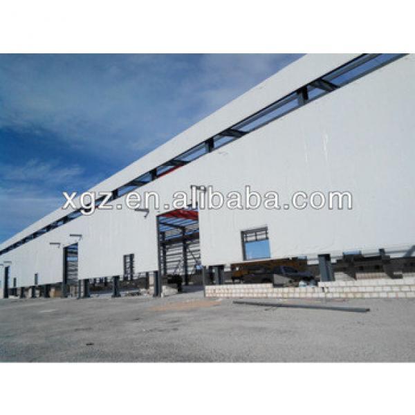 steel frame warehouse construction #1 image