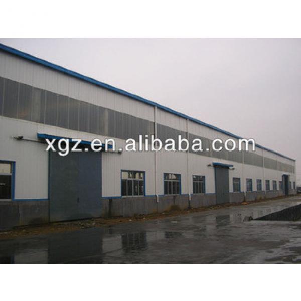 XZG lower cost sandwich panel light steel frame warehouse #1 image