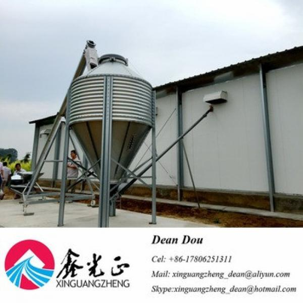 Automatic Control Equipment Steel Structure Building Poultry Farm Manufacturer #1 image