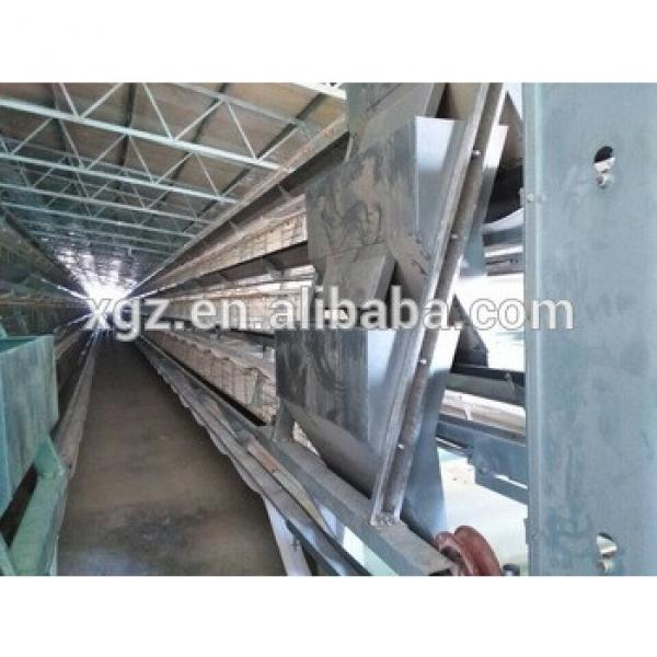 low cost structural steel poultry farm, chicken cage house #1 image
