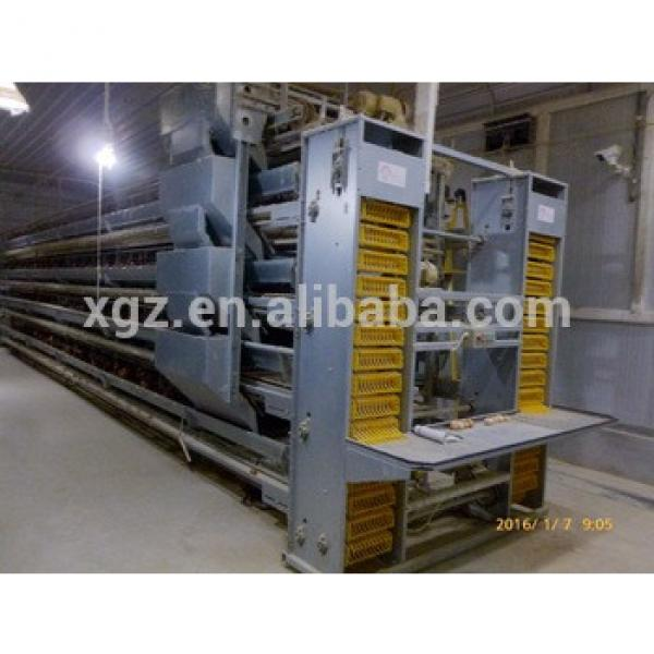 Automatic Steel Structure Poultry Farm Layer Poultry House Equipment #1 image