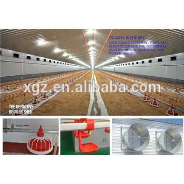 Automatic layer chicken battery cage, Layer poultry farm house design #1 image