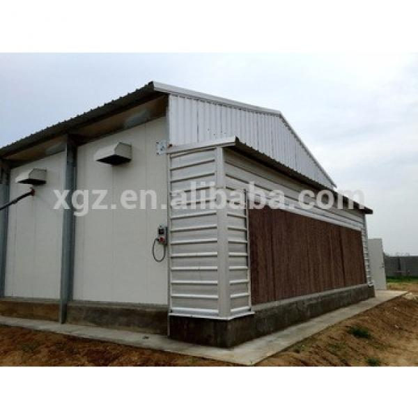Automatic Equipment Chicken Egg Farm Steel Structure Poultry Building #1 image