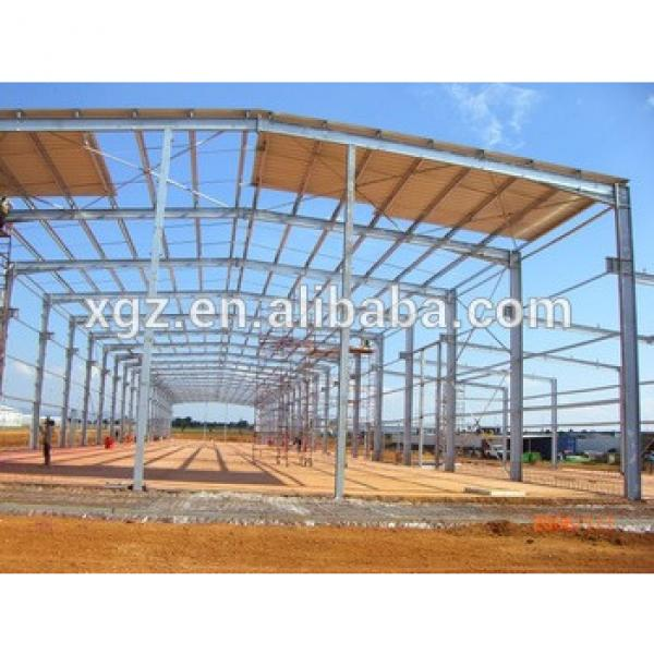 Chian prefabricated warehouse by steel structure #1 image