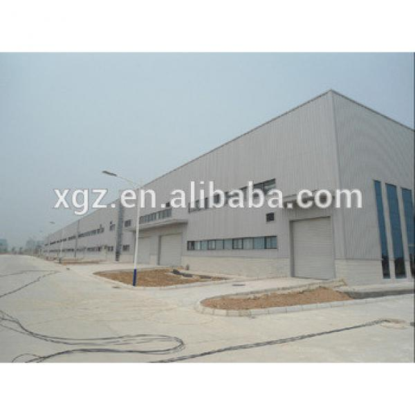 light steel construction design prefabricated workshop large span steel structure warehouse #1 image