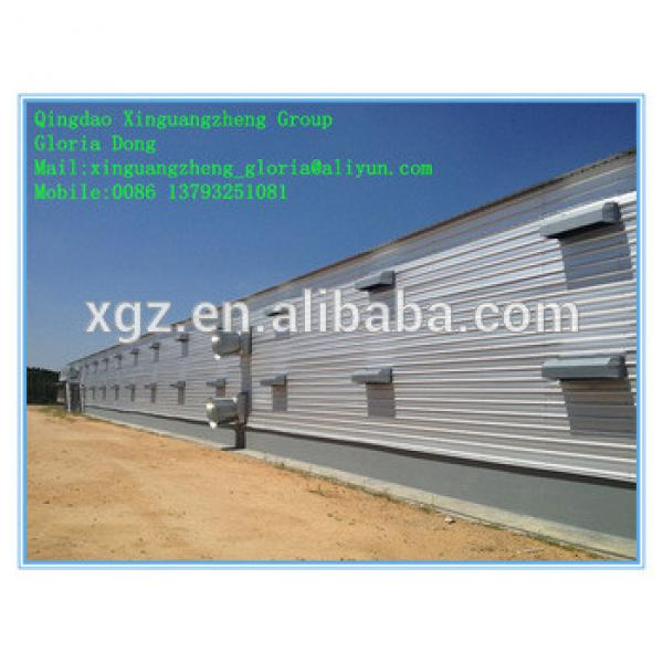 prefabricated broiler poultry farm house design #1 image
