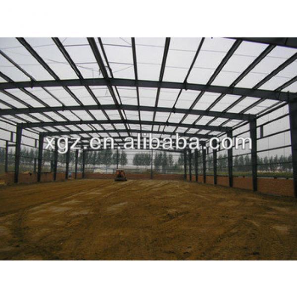 prefabricated light steel warehouse structure steel fabrication #1 image